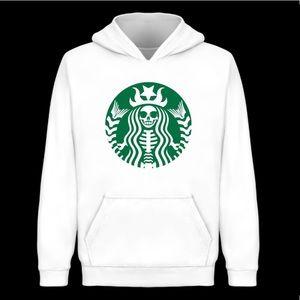 Starbucks inspired Halloween hoodie